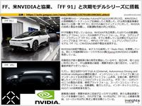 FF、米NVIDIAと協業、「FF 91」と次期モデルシリーズに搭載のキャプチャー