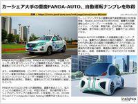 カーシェア大手の重慶PANDA-AUTO、自動運転ナンプレを取得のキャプチャー