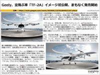 Geely、空飛ぶ車「TF-2A」イメージ初公開、まもなく発売開始のキャプチャー