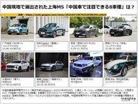 中国現地で選出された上海MS「中国車で注目できる8車種」は?のキャプチャー
