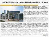 「まだまだ不十分」も2030年に産業規模3000億元? 上海FCVのキャプチャー