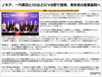 ノキア、一汽集団と5GなどICV分野で提携、吉林省の産業振興へのキャプチャー