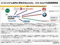 エコシステム拡充に努めるNavInfo、CES Asiaでも新提携発表のキャプチャー