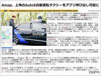 Amap、上海のAutoX自動運転タクシーをアプリ呼び出し可能にのキャプチャー
