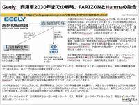 Geely、商用車2030年までの戦略、FARIZONとHanmaの融合のキャプチャー