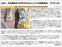 DiDi、北京運転手1日平均9000人にPCR検査実施、ワクチンものキャプチャー