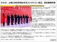 テスラ、上海に米以外初のギガファクトリー起工、初の単独外資のキャプチャー