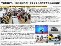 中国新興EV、KOL1000人同一センテンス発声でギネス記録認定のキャプチャー