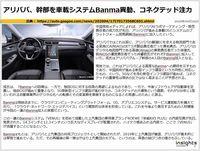 アリババ、幹部を車載システムBanma異動、コネクテッド注力のキャプチャー