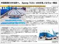 中国新興EVが北欧へ、 Xpeng「G3i」100台をノルウェー輸出のキャプチャー