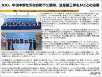 NIO、中国本部を安徽合肥市に展開、量産第三弾もJACとの協業のキャプチャー