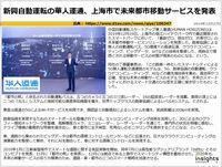 新興自動運転の華人運通、上海市で未来都市移動サービスを発表のキャプチャー