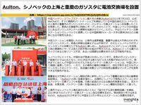 Aulton、シノペックの上海と重慶のガソスタに電池交換場を設置のキャプチャー