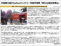 中国副大臣がAultonバッテリー交換所視察「新たな優位性確立」のキャプチャー