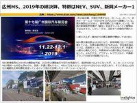 広州MS、2019年の総決算、特徴はNEV、SUV、新興メーカーのキャプチャー