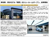 車和家、初のモデル「理想」のショールームオープン、納車開始のキャプチャー