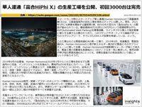 華人運通「高合HiPhi X」の生産工場を公開、初回3000台は完売のキャプチャー