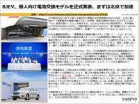 BJEV、個人向け電池交換モデルを正式発表、まずは北京で加速のキャプチャー