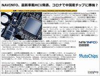 NAVINFO、最新車載MCU発表、コロナで中国産チップに勝機?のキャプチャー