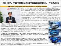 一汽トヨタ、中国で非NEVのHEVの販売比率15%、今後も強化のキャプチャー