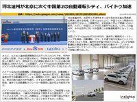 河北滄州が北京に次ぐ中国第2の自動運転シティ、バイドゥ加速のキャプチャー