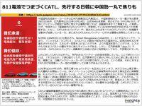 811電池でつまづくCATL、先行する日韓に中国勢一丸で焦りものキャプチャー