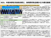 NIO、中国本部を安徽省合肥に、当地政府系企業から70億元獲得のキャプチャー