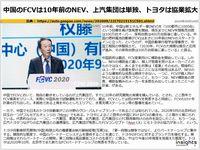 中国のFCVは10年前のNEV、上汽集団は単独、トヨタは協業拡大のキャプチャー