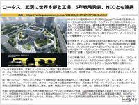 ロータス、武漢に世界本部と工場、5年戦略発表、NIOとも連携のキャプチャー