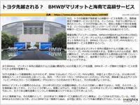 トヨタ先越される? BMWがマリオットと海南で高級サービスのキャプチャー