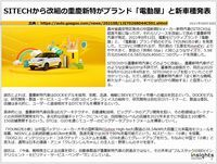 SITECHから改組の重慶新特がブランド「電動屋」と新車種発表のキャプチャー