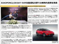 XIAOPENGとDESAY SVが自動運転分野での戦略的提携を発表のキャプチャー