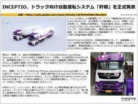 INCEPTIO、トラック向け自動運転システム「軒轅」を正式発表のキャプチャー