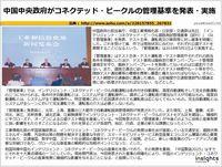 中国中央政府がコネクテッド・ビークルの管理基準を発表・実施のキャプチャー