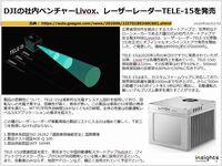 DJIの社内ベンチャーLivox、レーザーレーダーTELE-15を発売のキャプチャー