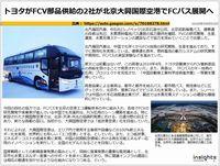 トヨタがFCV部品供給の2社が北京大興国際空港でFCバス展開へのキャプチャー