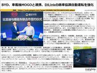 BYD、車載機MOGOと連携、DiLinkの路車協調自動運転を強化のキャプチャー