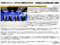 中国で5シリーズPHEV爆売れBMW、中国最大の送電企業と連携のキャプチャー