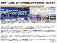 合肥でICV大会、包河区が中関村と協力で産業集積、実証実験ものキャプチャー