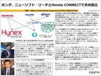 ホンダ、ニューソフト・リーチとHonda CONNECTで合弁設立のキャプチャー