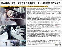 華人運通、ダウ・ケミカルと新素材シート、LUXの快適さ安全性のキャプチャー