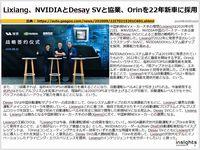 Lixiang、NVIDIAとDesay SVと協業、Orinを22年新車に採用のキャプチャー