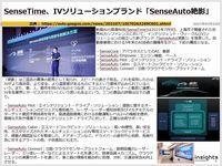 SenseTime、IVソリューションブランド「SenseAuto絶影」のキャプチャー