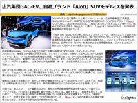 広汽集団GAC-EV、自社ブランド「Aion」SUVモデルLXを発表のキャプチャー