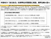 中国NEV「あるある」を新華社が真面目に報道、業界は戦々恐々のキャプチャー