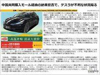 中国共同購入モール経由の納車拒否で、テスラが不利な状況陥るのキャプチャー