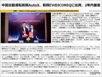 中国自動運転新興AutoX、新興EVのICONIQに出資、2年内量産のキャプチャー