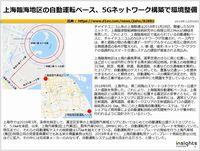 上海臨海地区の自動運転ベース、5Gネットワーク構築で環境整備のキャプチャー