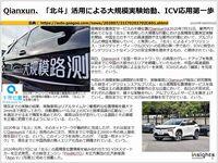 Qianxun、「北斗」活用による大規模実験始動、ICV応用第一歩のキャプチャー