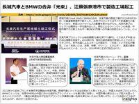 長城汽車とBMWの合弁「光束」、江蘇張家港市で製造工場起工のキャプチャー